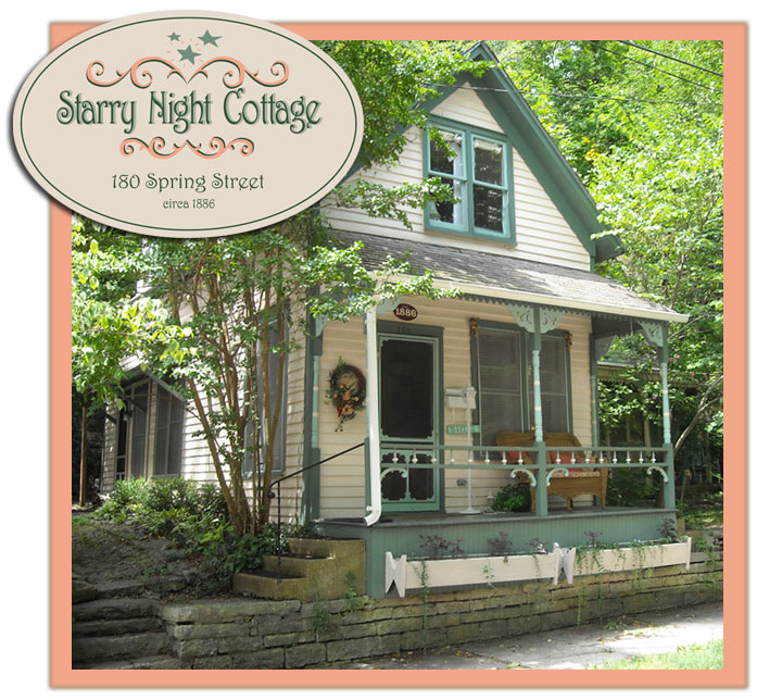 Photo of Rosanna Cottage in Eureka Springs, Arkansas